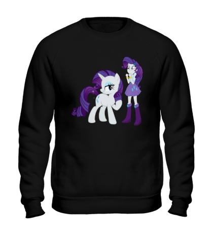 Свитшот Rarity and Rarity