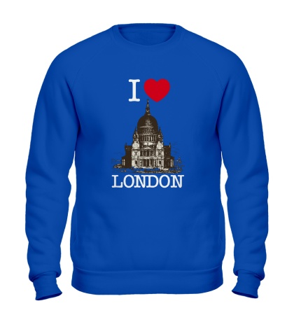 Свитшот I love London