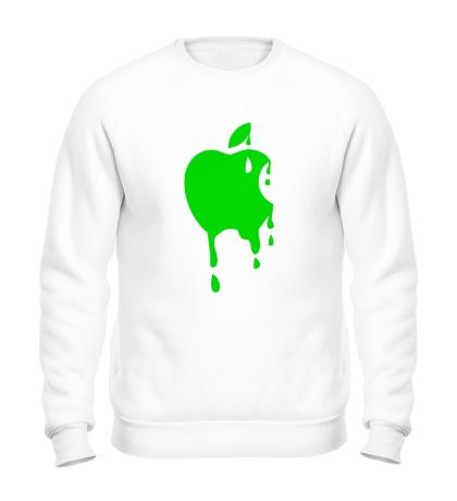 Свитшот Кислотное яблоко
