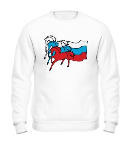 Свитшот Сильная Россия