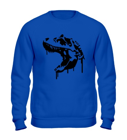 Свитшот Череп тираннозавра