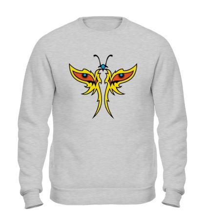 Свитшот Глазастая бабочка
