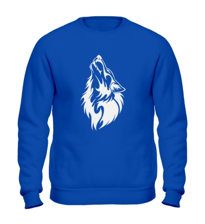 Свитшот Воющий волк