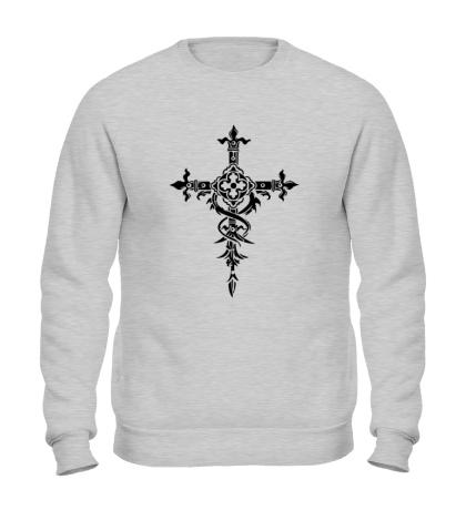 Свитшот Готический крест