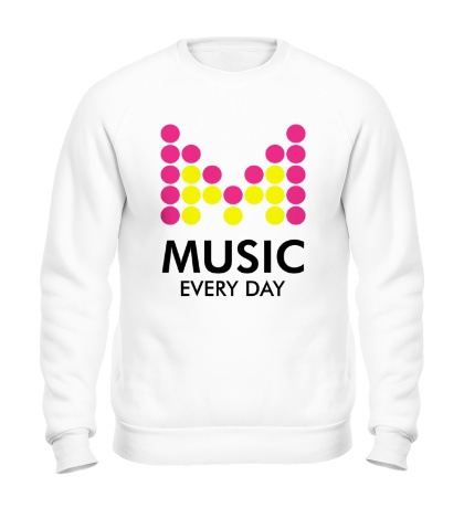 Свитшот Music Every Day