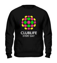 Свитшот Club Life Every Day