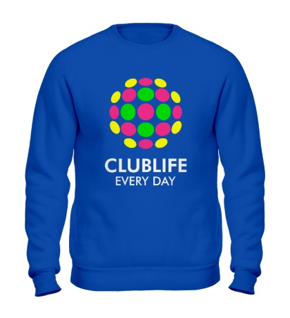 Свитшот Club Life Every Day