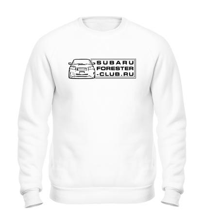 Свитшот Subaru Forester Club