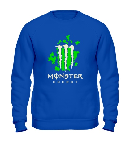Свитшот Monster Energy Glow