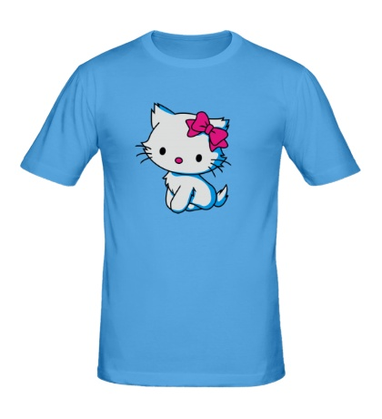 Мужская футболка Sweet Kitty