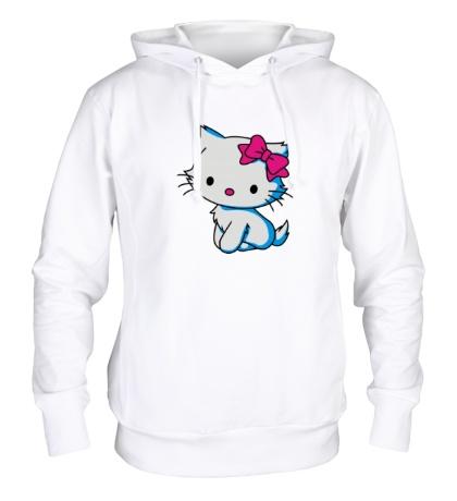 Толстовка с капюшоном Sweet Kitty