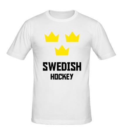 Мужская футболка Swedish Hockey