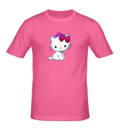 Мужская футболка Сладкая Kitty
