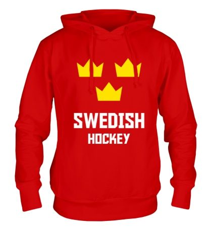 Толстовка с капюшоном Swedish Hockey