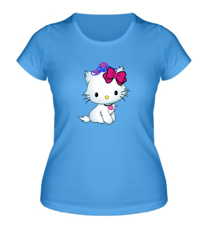 Женская футболка Сладкая Kitty