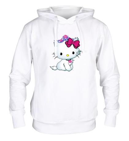 Толстовка с капюшоном Сладкая Kitty