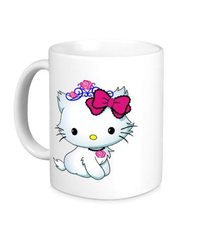 Керамическая кружка Сладкая Kitty