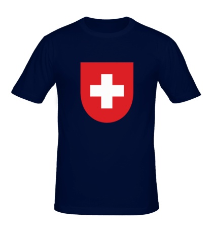 Мужская футболка Switzerland Coat