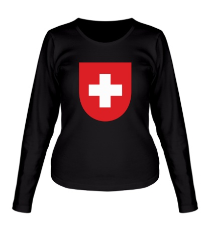 Женский лонгслив Switzerland Coat