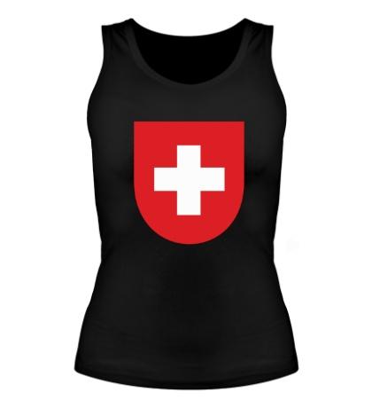 Женская майка Switzerland Coat