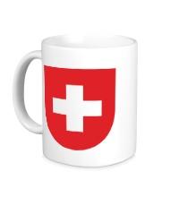 Керамическая кружка Switzerland Coat