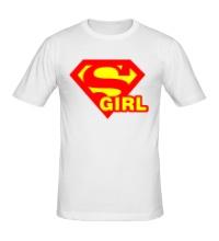 Мужская футболка Supergirl
