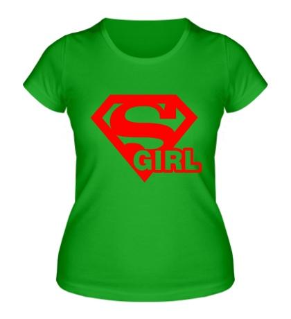 Женская футболка Supergirl