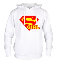 Толстовка с капюшоном Supergirl