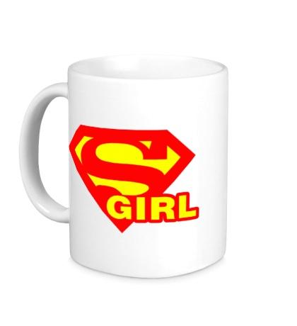 Керамическая кружка Supergirl
