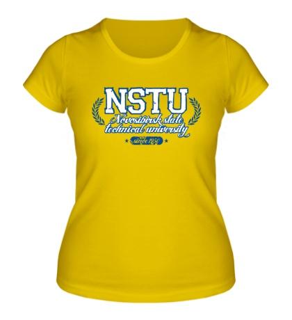 Женская футболка НГТУ Университет