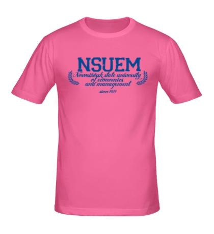 Мужская футболка НГУЭУ Университет