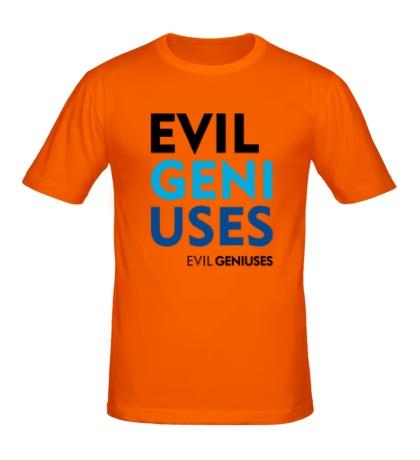 Мужская футболка Evil Geniuses Text