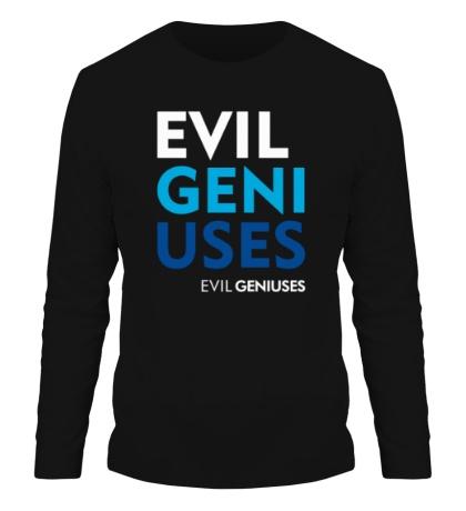 Мужской лонгслив Evil Geniuses Text