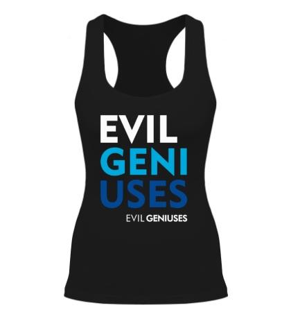 Женская борцовка Evil Geniuses Text
