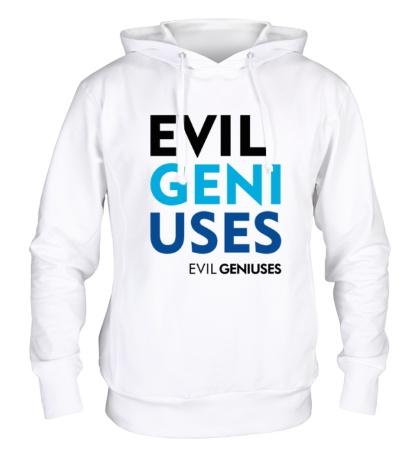 Толстовка с капюшоном Evil Geniuses Text