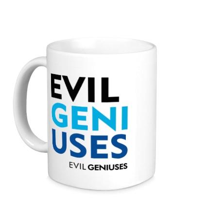 Керамическая кружка Evil Geniuses Text