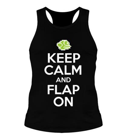 Мужская борцовка Keep Calm & Flap On
