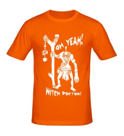 Мужская футболка Oh yeah, Witch Doctor