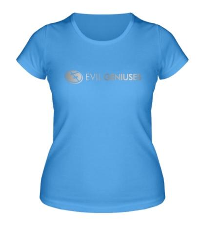 Женская футболка Evil Geniuses Line