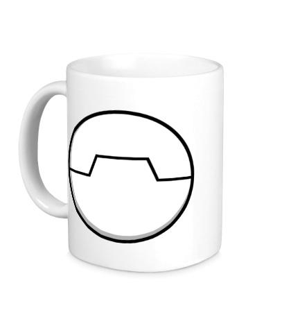 Керамическая кружка Беймакс лого