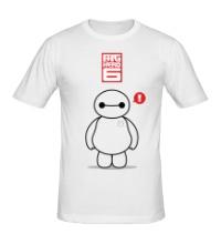Мужская футболка Беймакс, Город героев