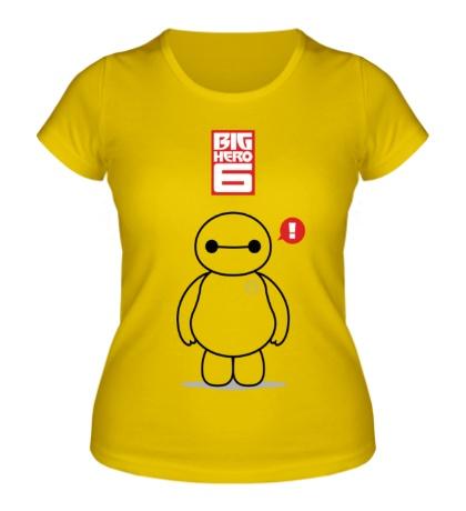 Женская футболка Беймакс, Город героев