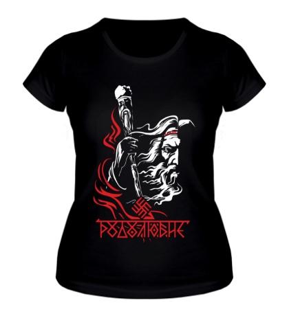 Женская футболка Родолюбие