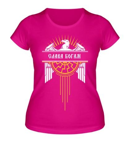 Женская футболка «Слава Богам»