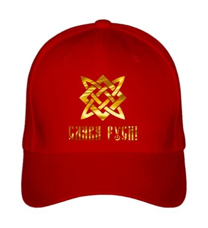 Бейсболка Слава Руси, золото