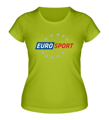 Женская футболка EURO Sport
