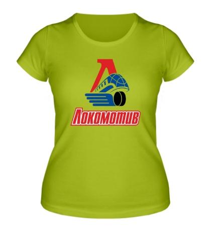Женская футболка ХК Локомотив