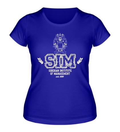 Женская футболка СибАГС Академия