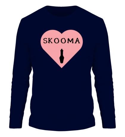 Мужской лонгслив Love skooma