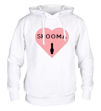 Толстовка с капюшоном Love skooma